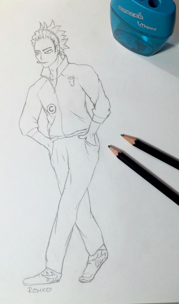 Ukai Keishin Sketch