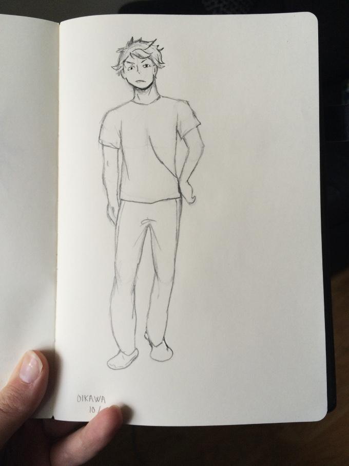 Oikawa Sketch