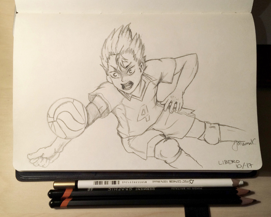 Nishinoya Sketch