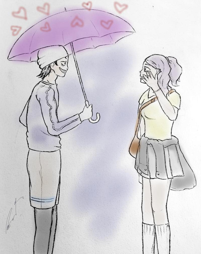 Midousuji Akira and loverain