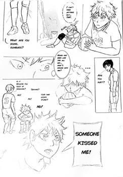 Page 1 [Hinata, who kissed you?]