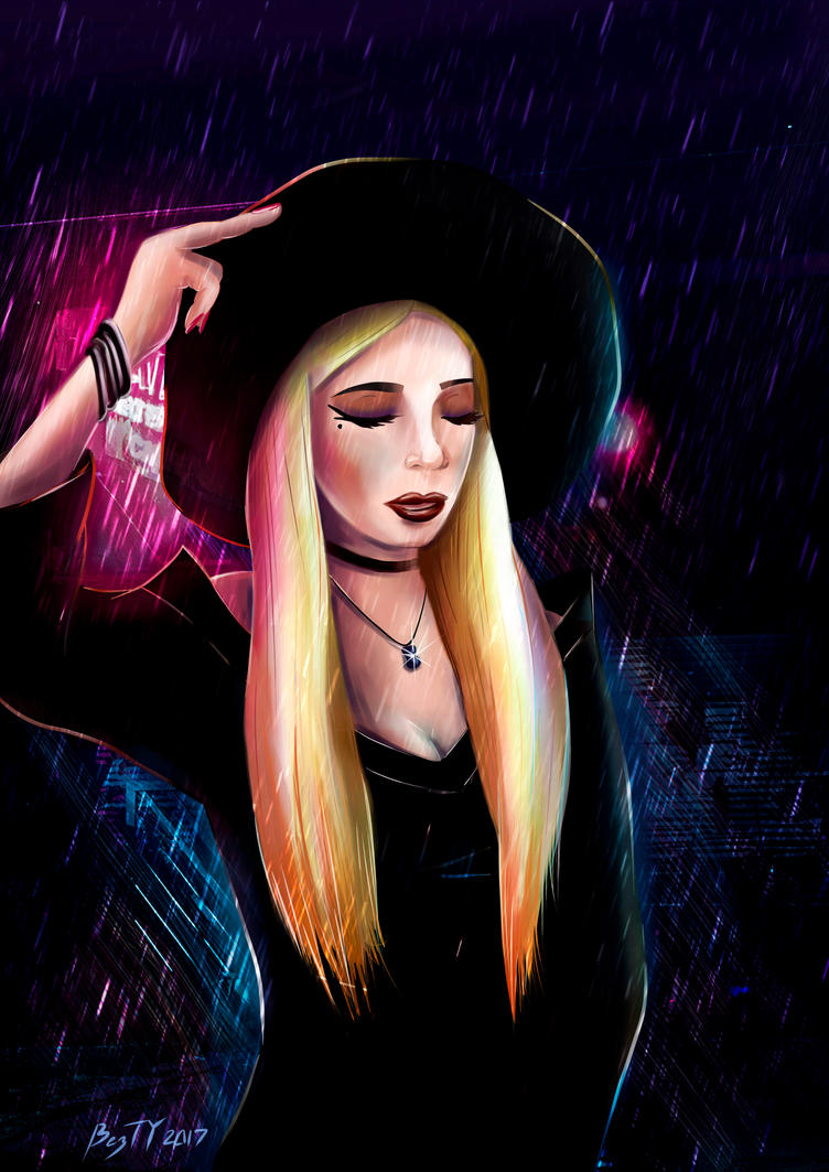 The Klepto Queen: Siobhan Kelly. Rainy Night by MysticSmartIce