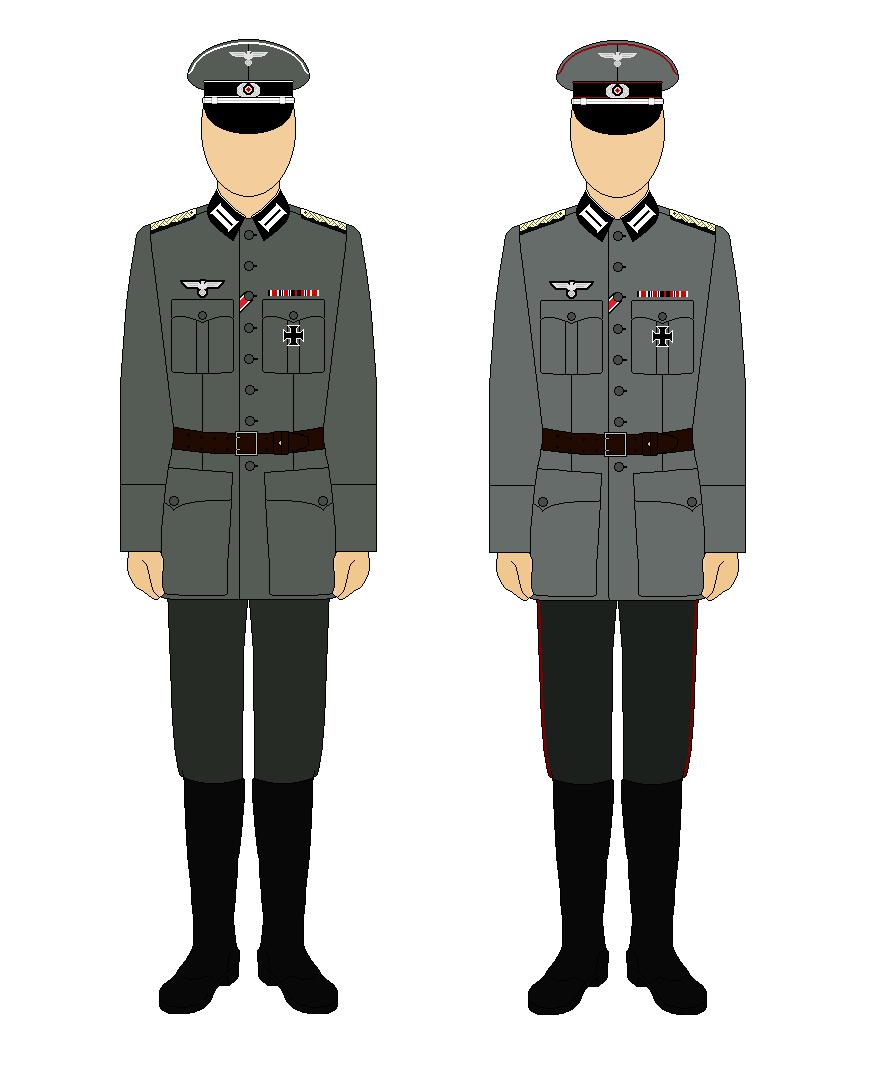 Wehrmacht Officer Uniforms by L0ganStark on DeviantArt