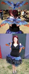 Dewdrop faerie by purpleravenwings