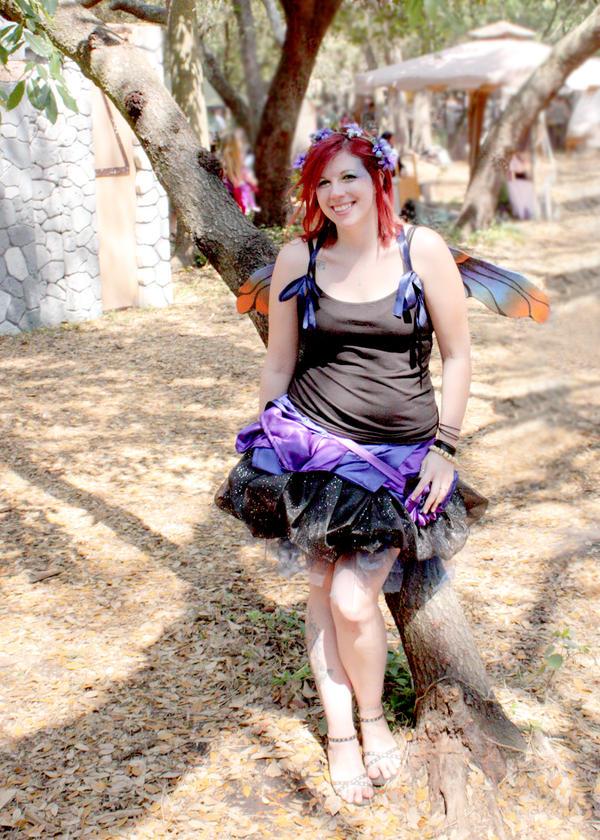 Dewdrop Fairy by purpleravenwings