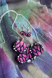 Butterfly Dreams in purple and pink by purpleravenwings