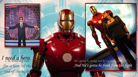 Iron Man Compilation Wallpaper by purpleravenwings