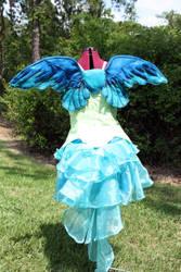 Water Fairy Costume by purpleravenwings