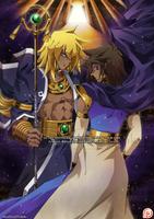 Master Tameru and Servant Setka by MouHitoriNoBoku