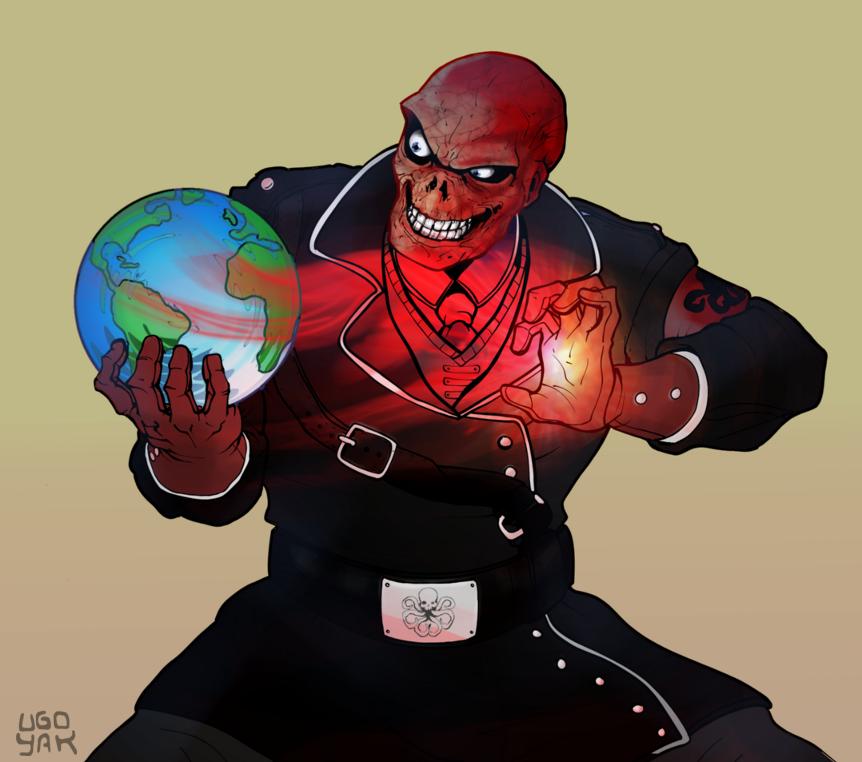 Red Skull by ugoyak