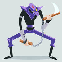 TMNT Foot Clan Ninja by ugoyak