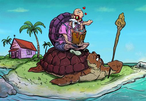 Master Roshi fan-art