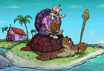 Master Roshi fan-art