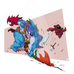 Grom (alternative skin) - Heroes Evolves Fan-Art