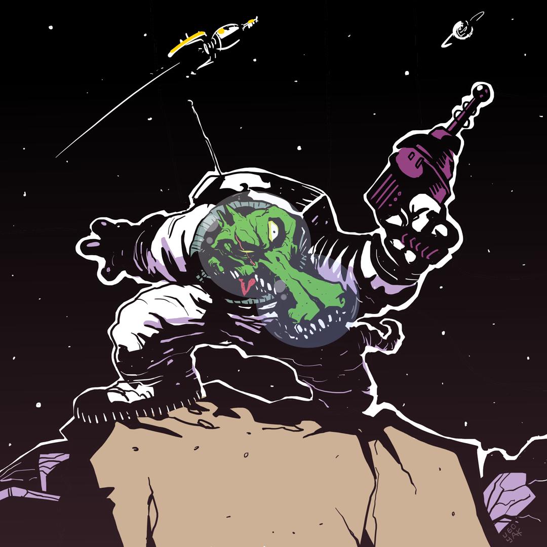 Space Crocodile