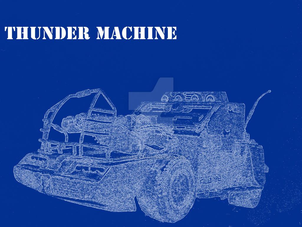 Thunder machine blueprint by skinnyjoefan on deviantart thunder machine blueprint by skinnyjoefan malvernweather Gallery