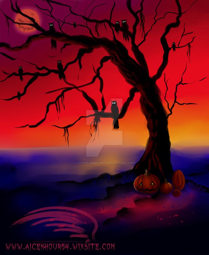 Eve of Halloween by InsaneAngelArt