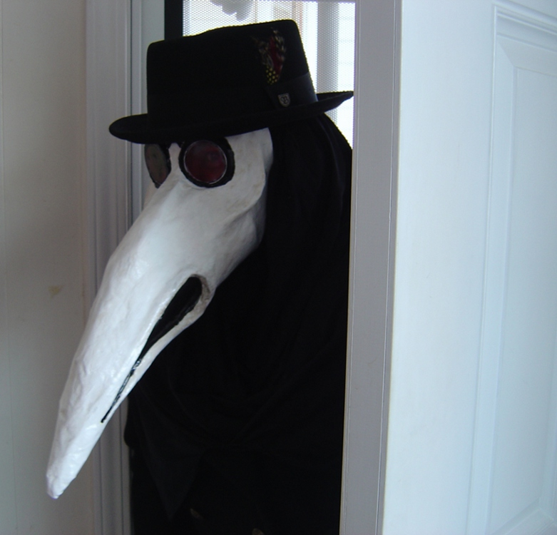 The Plague Doctor by squidink