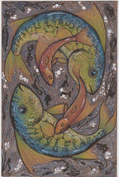 Imaginary Tumbling Fish