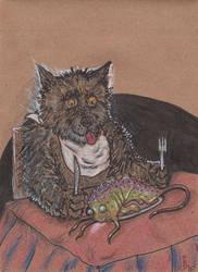 Seb Hoovitnisson's 'Fish' Dinner