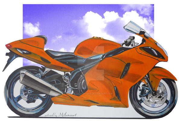 Suzuki Hayabusa By MILAMOMACHINE On DeviantArt