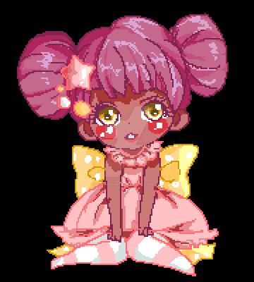 Star girl Pixel by draggersprez