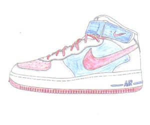 mid top air force ones by tazz1202