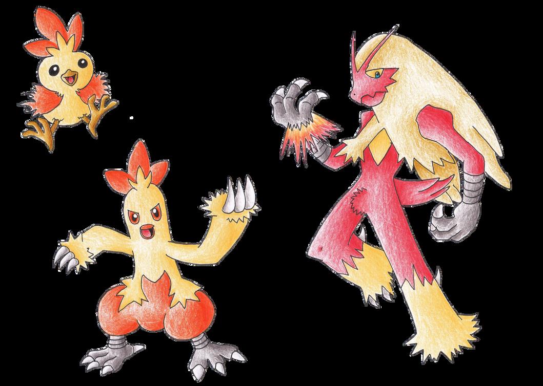 Pokemon Torchic Evolve Images | Pokemon Images