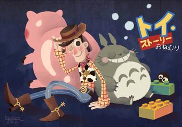 Toy Story Onemuri by RioRock