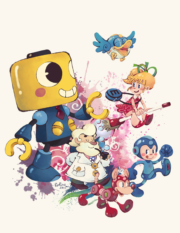 Lets Go - Mega Man Tribute by RioRock
