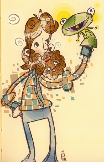 Jim Henson Muppet Fan Art by jeaux