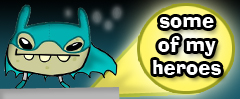 Some of My Heroes Blog Banner by jeaux
