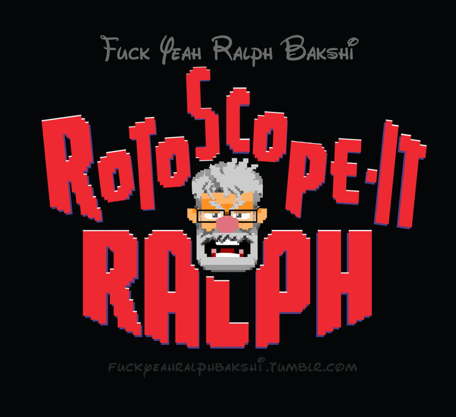 Rotoscope IT Ralph by jeaux