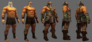 Barbarian Lo-Poly