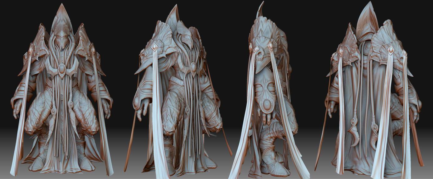 Protoss - Dark Templar by Konartist-Portfolio