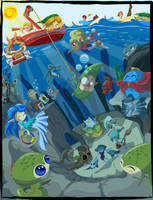 Legend of Zelda:Ocean Theme by indiochink