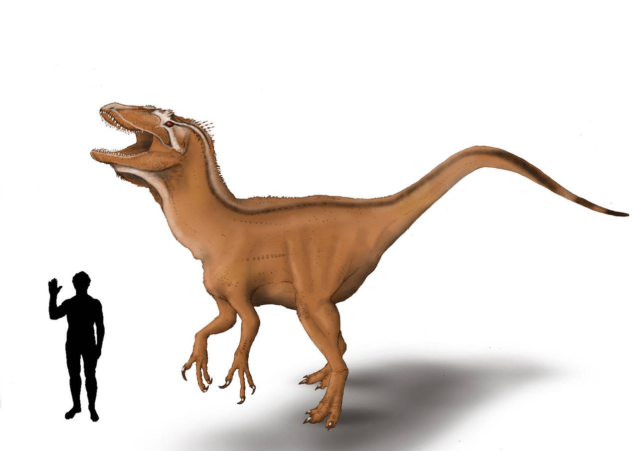 Bahariasaurus by Hyrotrioskjan