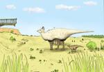 Olorotitan grassland