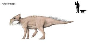 Ajkaceratops by Hyrotrioskjan