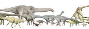 Island dinosaur size chart