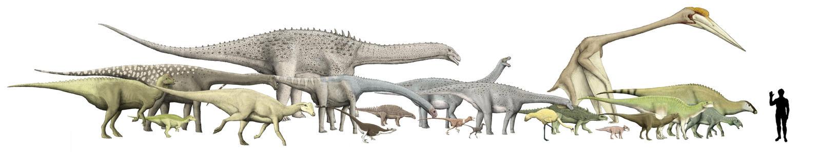 Island dinosaur size chart by Hyrotrioskjan