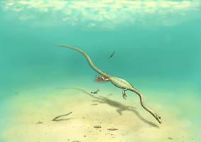 Hyphalosaurus by Hyrotrioskjan