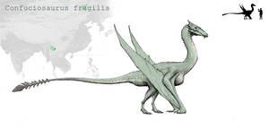 Confuciosaurus by Hyrotrioskjan