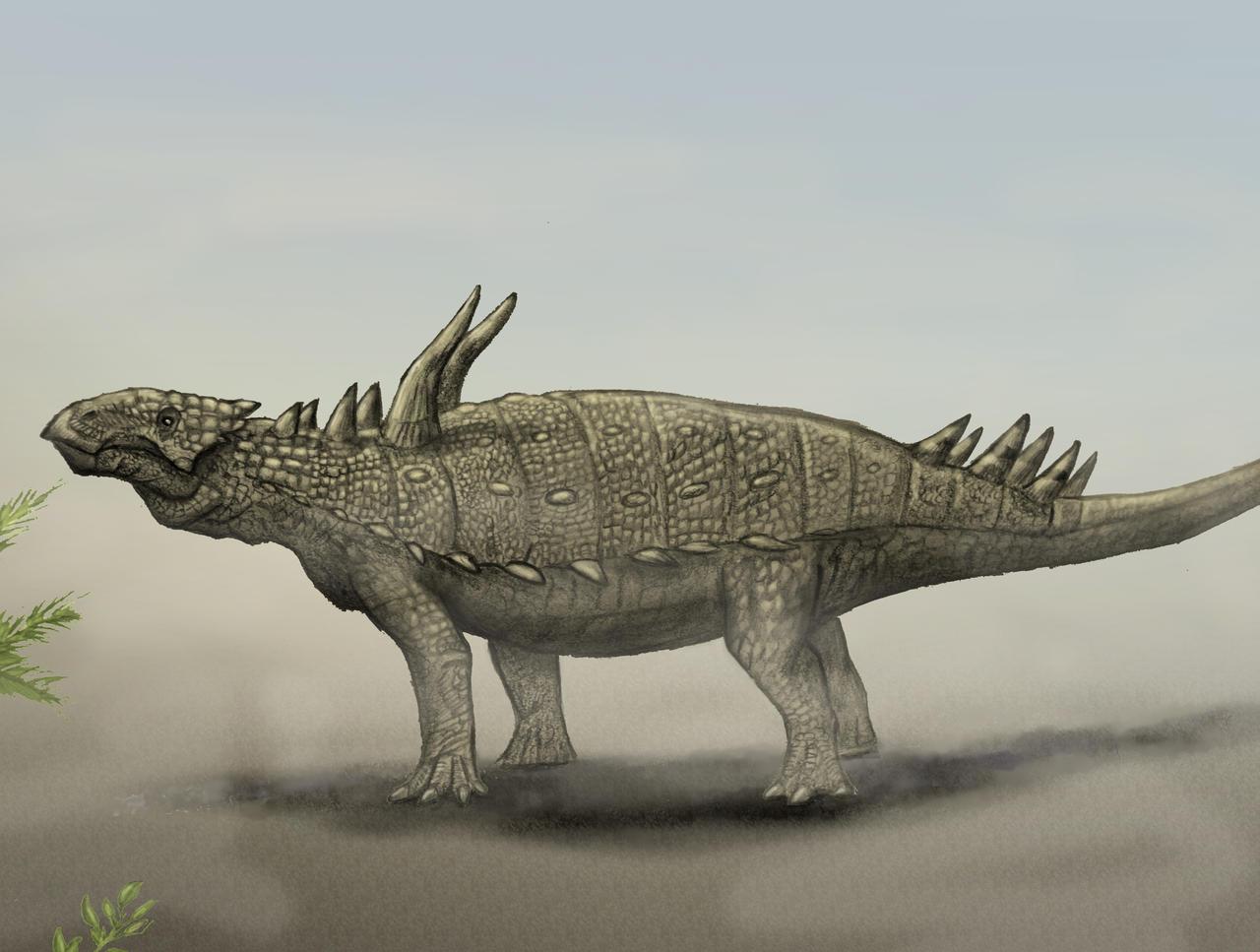 Antarctopelta by Teratophoneus by Hyrotrioskjan