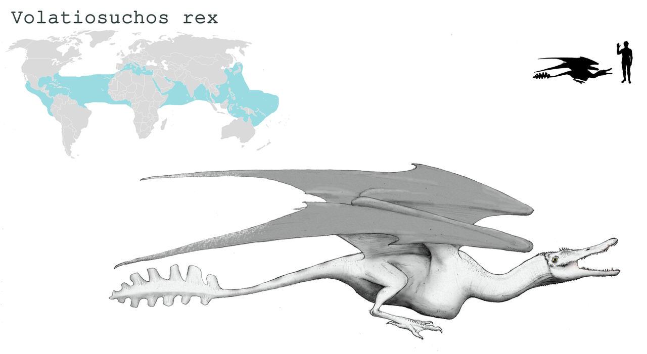 Volatilosuchos by Hyrotrioskjan