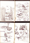Site B sketches