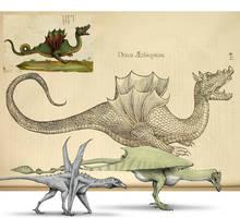 Dragons of Ulisse Aldrovandi by Hyrotrioskjan