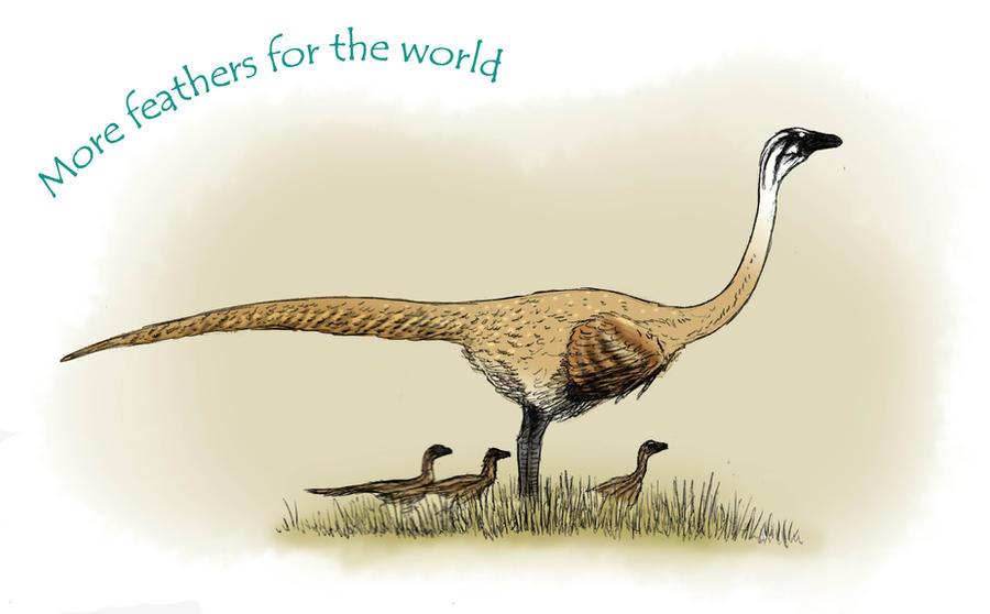 Ornithomimus by Hyrotrioskjan