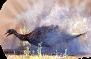 Dusty Struthiomimus by Hyrotrioskjan