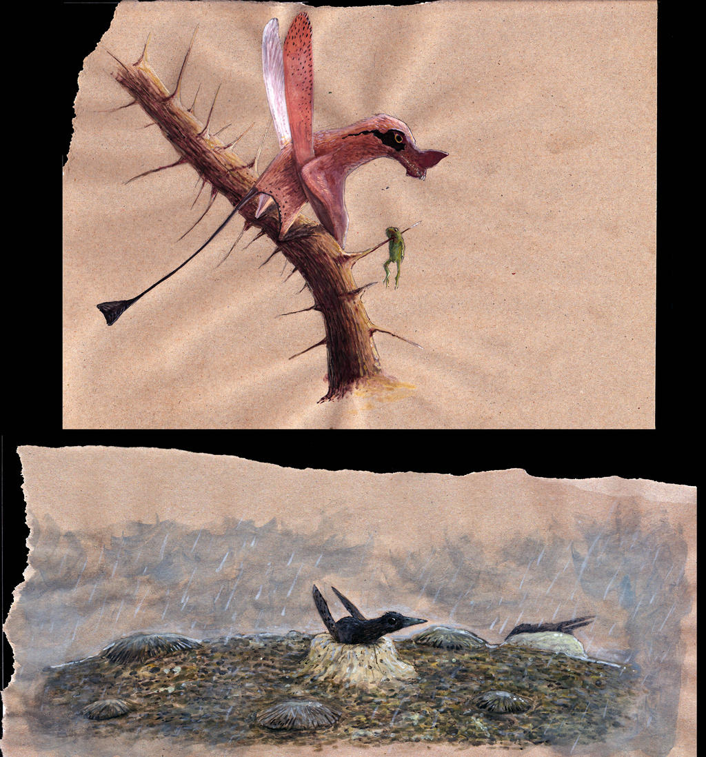 All Yesterdays pterosaurs